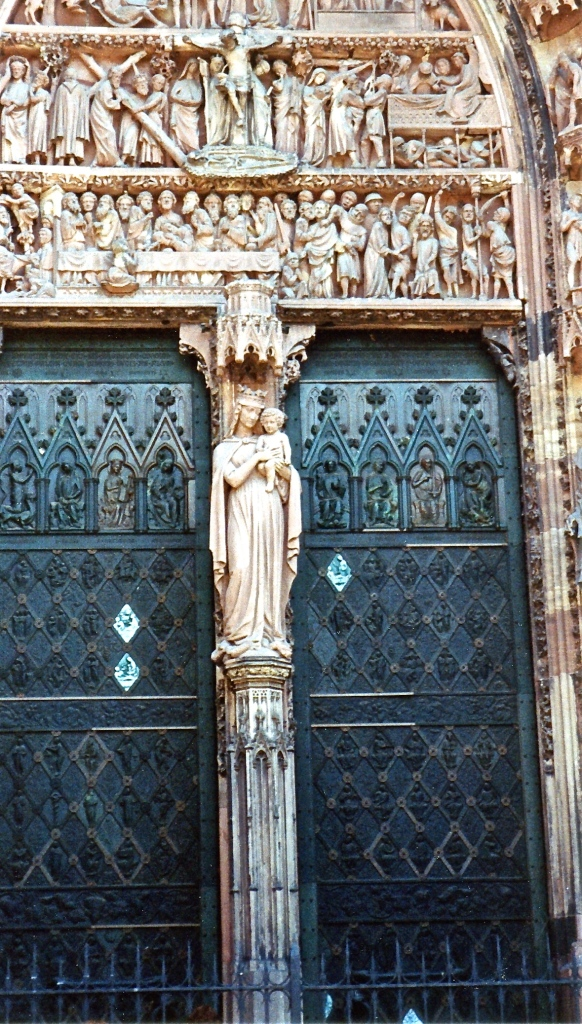 Detail from Strasbourg Cathedral
