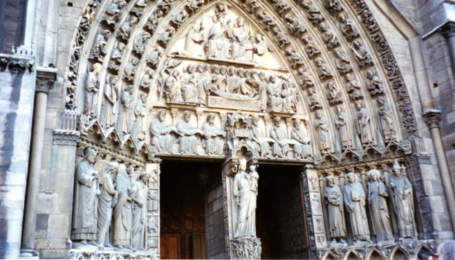 Doorway, Notre Dame
