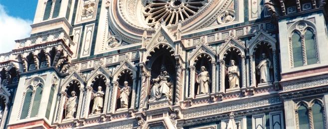 Carvings on Santa Maria de Fiorio